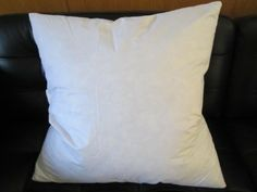 """Set of Two - 20"""" X 20"""" 95% Feather / 5% Down Pillow Inserts - Made in USA"""