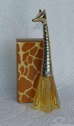 Vintage Avon Graceful Giraffe Bottle  To A by RaindropVintageShop, $8.00