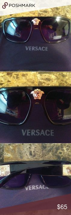 Versace sunglasses Versace sunglasses comes with dust bag only no box fast shipping Versace Accessories Glasses