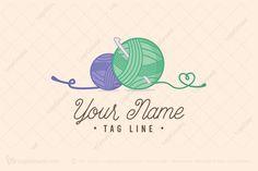 Logo for sale: Crochet Yarn Logo by chicha, uploaded on Logo of balls of yarn with a crochet needle. Crochet Needles, Crochet Yarn, Knitting Yarn, Crochet Hooks, Logo Image, Crochet Coaster Pattern, Wedding Embroidery, Crochet Projects, Crochet Ideas