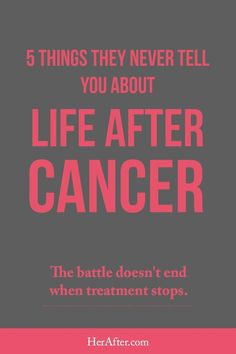 What they never tell you about life after cancer. Click to read full article. #breastcancerfacts