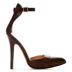 Altuzarra x Target Ankle Strap Shoe in Brown