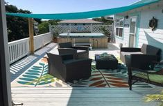 Enjoy Your Own Hot Tub, Game Room, And Tiki Bar At The Island House In Mississippi