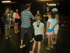 Extreme improve started the week off with some acting games! http://www.coloradoacademysummer.org/