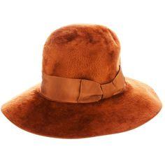 HERBERT JOHNSON VINTAGE wide-brimmed hat - Polyvore