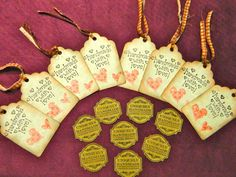 Handmade with love gift tags by GrowingPhasesFarm on Etsy, $5.50