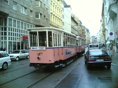 """Manner"" - Tram in Vienna cc-by davste Manners, Vienna, Austria, Advertising, Street View, Sweet, Win Prizes, Slovenia, Candy"
