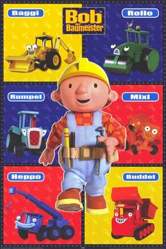 Bob the Builder (German) 11x17 Movie Poster (1999)
