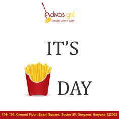 It's FRY-DAY! it's time to gorge on some delicious food!  #Adivasgrill #TGIF #foodtalkindia #foodlover #yumyum