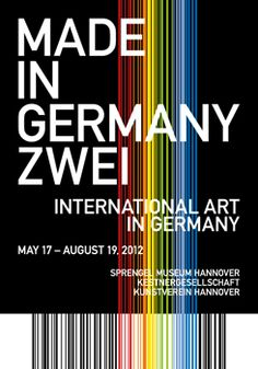 Made in Germany Zwei: International Art in Germany (17/05/2012-19/08/2012) Sprengel Museum Hannover, kestnergesellschaft & Kunstverein Hannover