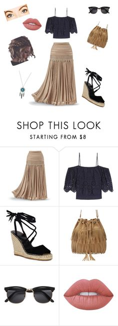 """""""#2  Tomorrow"""" by lidhiadossantos ❤ liked on Polyvore featuring Ganni and Lime Crime"""