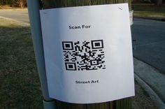 Scan for Street Art