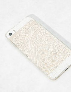 Carcasa relieve blanco Iphone 5/5s - Accesorios tablet & móvil - Bershka España