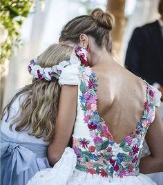 Robe mariée fleurs