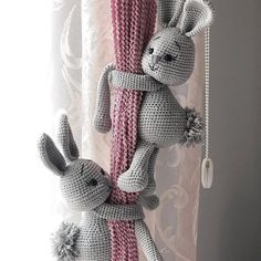 Diy Pillows Videos Black And White - Amigurumi Crochet Animal Patterns, Stuffed Animal Patterns, Crochet Patterns Amigurumi, Amigurumi Doll, Crochet Animals, Crochet Dolls, Knitted Dolls, Crochet Teddy, Crochet Bunny