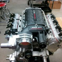 """""""That beautiful  TVS 2300 blower sitting on top of a mastmotorsports 427 LS."""