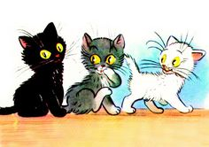 Tanárblog - A három kiscica - foglalkozásvázlat óvodásoknak Homemade Christmas Cards, Film Strip, Future Baby, Kittens Cutest, Farm Animals, Bowser, Minions, Fairy Tales, Pikachu
