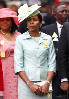 Queen Masenate Mohato Seeiso of Lesotho, June 18, 2013 | The Royal Hats Blog