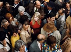 View Crowd 2 Emma by Alex Prager on artnet. Browse upcoming and past auction lots by Alex Prager. Popular Photography, People Photography, Street Photography, Portrait Photography, Fashion Photography, Creative Photography, Cinematic Photography, Group Photography, Conceptual Photography