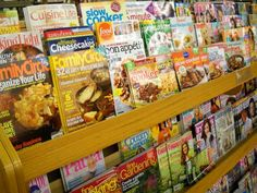 Extra, extra! We now carry magazines of all sorts of genres.