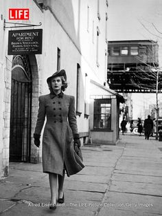 A LIFE photo essay follows a working girl in 1940