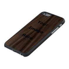 Make Your Own Carved® Walnut iPhone 6 Slim Case