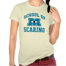 School of Scaring t-shirts