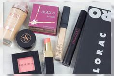 my currently used products...  #lorac #loracpro #anastasia #benefit #bobbibrown #nars #annayake #chanel
