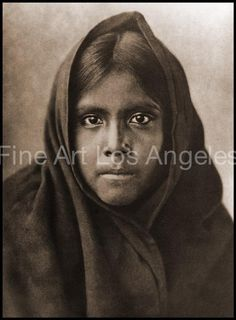 Edward Curtis Photo - Qahatika Girl, 1907 by FineArtLosAngeles on Etsy Fine Art Photo, Photo Art, Edward Curtis, Fine Art Paper, Vintage Photos, Native American, Artwork, Photography, Beautiful