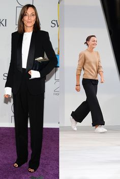 The 25 Chicest Women in Fashion in 2015 - Gallery - Phoebe Philo Phoebe Philo, Autumn Street Style, Street Chic, Celine, Minimalist Fashion Women, Le Smoking, Simple Outfits, Fashion Stylist, Fashion Pictures