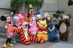 Various Disney Characters
