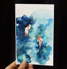 #friendly #fish #animals #watercolorpainting #watercolor #watercolour #painting #drawing #artclass #artstudio #ground37c #강남역 #신논현 #dailywork #artwork #artsy #art #dailydrawing #daily #그림그리기 #그림스타그램 #artstagram #일상