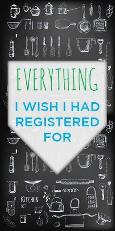 Everything I Wish I Had Registered For (and what we really didn't need!)   thebeautyspotqld.com.au