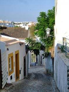Tavira, a city at the mouth of the Gilão River.   This quiet and pretty little town is a relaxing vacation destination with affordable accommodations, amazing views. Follow the link to find more great places to visit! http://mikestravelguide.com/destinations/