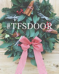 We would love to see all your beautiful Christmas wreaths in your door.   If yours is handing there giving all your neighbours door envy upload your pictures on Facebook or Instagram and use the hashtag #tfsdoor  Let's deck those doors! #tfsdoor #christmaswreaths #christmasflowers #deckyourdoor #doorenvy #yorkshireflorist #loveossett #theflowershopossett