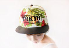 Tokyo Floral snapback