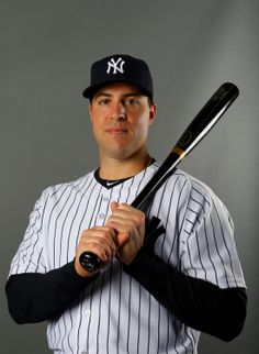 TAMPA, FL - FEBRUARY 22: Mark Teixeira #25 of the New York Yankees poses for a portrait during New York Yankees Photo Day on February 22, 2014 at George M. Steinbrenner Field in Tampa, Florida. (Photo by Elsa/Getty Images)