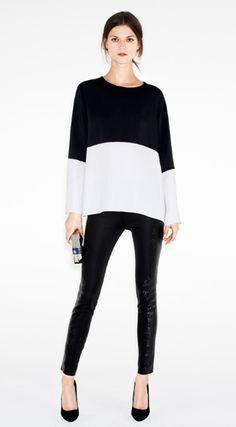 beautiful black & white- Kasia Struss for Zara December 2012