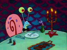 """Build A Burger To Find Out Which """"SpongeBob SquarePants"""" Character You Are    You got: Gary"""