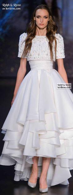 //Ralph & Russo Haute Couture Fall 2015-16 #fashion #womenswear #couture
