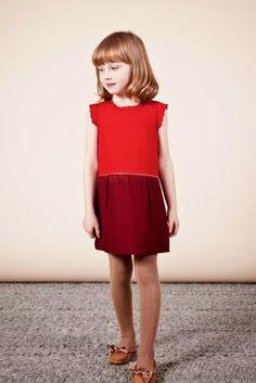 36dc30fb0d691 Lookbook Chloé enfant autome-hiver 2013. Agence FoveaDesign. Photos  Karel  Balas.