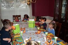 good Scooby-Doo party activities & scavenger hunt idea