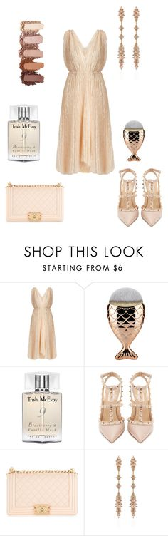 """Wear to a Wedding"" by angelina-vanessa ❤ liked on Polyvore featuring Maria Lucia Hohan, Trish McEvoy, Valentino, Chanel and Fernando Jorge"