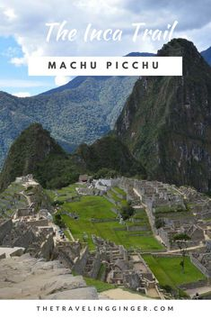 Machu Picchu is one of the most incredible places in the world. You have to go to Machu Picchu in Peru. The best way to experience it is by hiking the Inca Trail. If you are traveling to Peru, you must try to hike the Inca Trail. Pin this post for a guide Inca Trail Tours, Hiking Trails, Peru Travel, South America Travel, Machu Picchu, Beach Trip, Travel Around The World, Travel Inspiration, Travel Photography