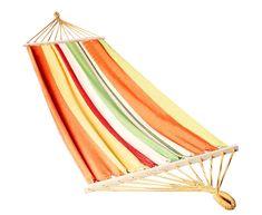 Houpací síť pro dva oranžová Outdoor Furniture, Outdoor Decor, Hammock, Beach Mat, Outdoor Blanket, Home Decor, Homemade Home Decor, Hammocks, Decoration Home