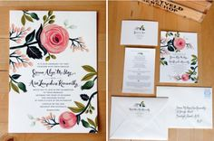 An oh-so-beuatiful invite! #wedding