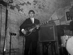 a very early shot of George