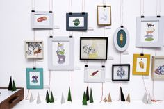 Driehoek is an illustration collective consisting of Megan Bird and Lizanne Visser. Typography Inspiration, Gallery Wall, African, Illustration, Frame, Home Decor, Picture Frame, Decoration Home, Room Decor