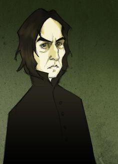 Severus Snape by Ninidu on deviantART