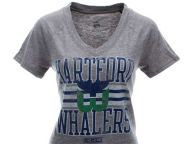Buy Hartford Whalers NHL Womens Impact Vneck T-Shirt T-Shirts Apparel and other Hartford Whalers products at lids.com